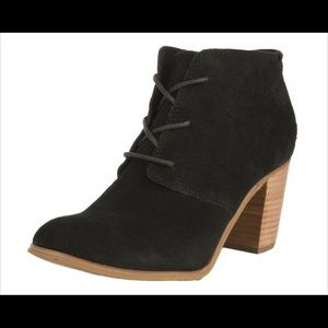 Toms lunata lace up ankle Booties